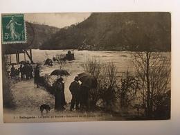 Bellegarde - La Perte Du Rhone - Souvenir Du 20 Janvier 1910 - Bellegarde-sur-Valserine