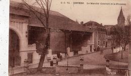 ORTHEZ LE MARCHE COUVERT ET LE FRONTON - Orthez