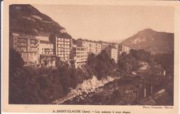 CPA - 6. SAINT CLAUDE Les Maisons à Onze étages - Saint Claude