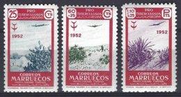Maruecos Espagnol Yv &T  PA 79/81. (pli 1 Timbre) ** Mnh - Marruecos Español