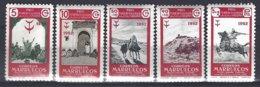 Maruecos Espagnol 1952 Yv &T  435/9.  ** Mnh - Maroc Espagnol