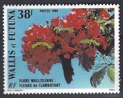 Wallis Et Futuna Yv & T 336, Fleurs De Flamboyant  ** Mnh - Wallis-Et-Futuna