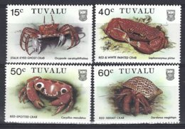 Tuvalu Yv & T 355/58, Faune, Crabes ** Mnh - Tuvalu