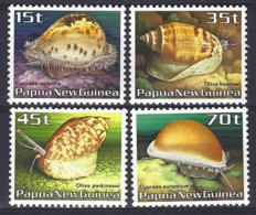 Papua New Guinea Yv & T 511/14 , Faune Marine, Coquillages ** Mnh - Papouasie-Nouvelle-Guinée