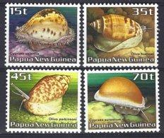 Papua New Guinea Yv & T 511/14 , Faune Marine, Coquillages ** Mnh - Papua-Neuguinea