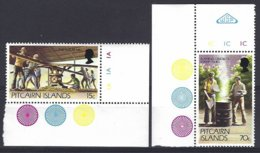 Pitcairn  Yv & T 205/06 , Série Courante,la Vie D'aujourd'hui à Pitcairn  ** Mnh - Timbres
