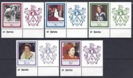 Pitcairn  Yv & T 268/72 , 60e Anniversaire De S.M.Elisabeth II  ** Mnh - Timbres