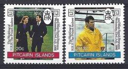 Pitcairn  Yv & T 273/4 Mariage Du Prince Andrew Et Miss Sarah Ferguson  ** Mnh - Pitcairn