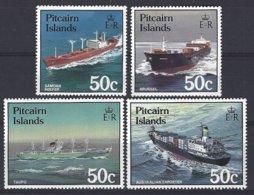 Pitcairn  Yv & T 279/82  Bateaux   ** Mnh - Pitcairn