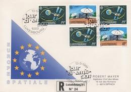 RE57    FDC Recommandé - Europa 1991   TTB - Luxembourg