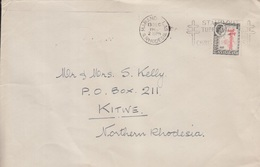Rhodesia Cover To , Stamps      (Red-2524) - Zambezia