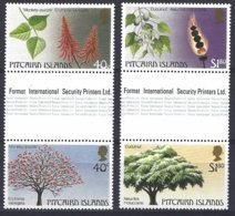 Pitcairn  Yv & T 287/90  Flore Indigène   ** Mnh - Pitcairn