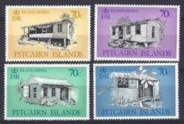 Pitcairn  Yv & T 283/6  Maisons Typiques De L'ile   ** Mnh - Timbres