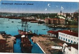 TURKEY - CONSTANTINOPLE, PANORAMA DE L`ARSENAL - Turchia