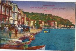 TURKEY - CONSTANTINOPLE, QUAI DE BOUYUK-DERE - Turchia