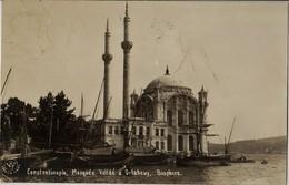 TURKEY - CONSTANTINOPLE, MOSQUEE VALIDE A ORTAKENTER - BOSPHORE - Turchia