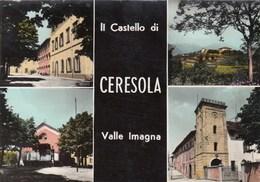 CERESOLA -VALLE IMAGNA-BERGAMO-MULTIVEDUTE-CARTOLINA VERA FOTOGRAFIA VIAGGIATA IL 27-7-1970 - Bergamo