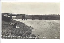 New Zealand - Palmerston North - Mangwatu River - Fitzherbert  Bridge - New Zealand