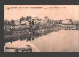 Pervijze - Schoorbakke-lez-Pervyse - 1914-18 - Première Ligne Boche Sur L'Yser - WW1 - Diksmuide