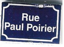 "Fève Perso ""Au Fournil Des Matignon"" à Granville (Manche):rue Paul Poirier - Regions"