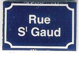 """Fève Perso """"Au Fournil Des Matignon"""" à Granville (Manche):rue St Gaud - Regions"""