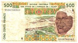 Billets > Autres - Afrique 500 Francs - Billets