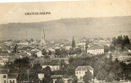 - CHATEAU SALINS - Vue Générale (correspondance Militaire En Allemand)  -14730- - Chateau Salins