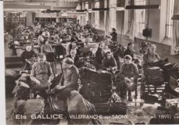 Metier - Usine - Etablissemen GALLICE - Villefranche Sur Saone - Usine De Vetement - Ouvrieres A Leurs Poste - Industrie