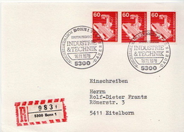 Postal History: Germany Stamps On R Card - Factories & Industries