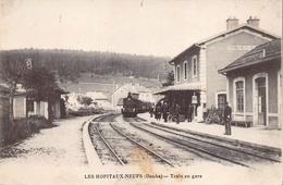 Les Hôpitaux Neufs Canton Pontarlier Gare Train Douane Douanier - Other Municipalities
