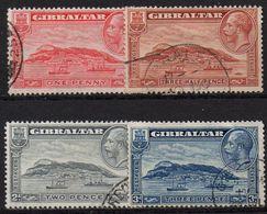GIBRALTAR : G183  -  1931  Used Set Perf. 13 1/2 X 14 - Gibilterra