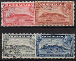 GIBRALTAR : G184  -  1931  Used Set Perf. 14 X 14 - Gibilterra