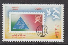 1998 Oman World Stamp Day Set Of 1  MNH - Oman
