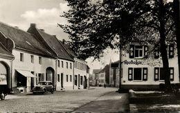 DORMAGEN A. Rhein, Kölner Strasse, Apotheke, Auto (1953) - Dormagen