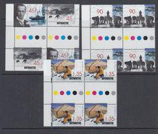 AAT 1999 Mawson's Hut Restoration 4v 2x Gutter ** Mnh (41114) - Australian Antarctic Territory (AAT)