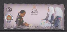 2013 Oman Girl Guides 20th Arab Regional Conference Set Of 1  MNH - Oman