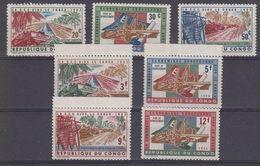Congo 1963 European Development Aid 7v ** Mnh (41116) - Europa-CEPT