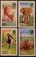 Kenya 1996** Mi.688-91. Animals [20;39] - Timbres