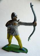 Figurine CYRNOS MOYEN AGE MA06 CHEVALIER Medieval ARCHER 60's Pas Starlux Clairet - Starlux