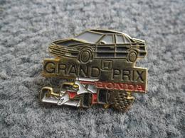 PIN'S AUTOMOBILE HONDA Grand Prix Auto F1 Formule 1 @ 32 X 24 Mm - Honda