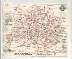 Plan Du Réseau , La Ligne 10 Auteuil-Jussieu Prolongée : Gare D'Orléans-Austerlitz ,METRO ,1939, 3 Scans, Frais Fr 1.45é - Europe