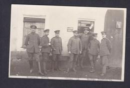 Carte Photo Guerre 14-18 In Den Vogesen Vosges St Saint Stail Armée Allemande Deutsche Armee Feldwebel Noms - France