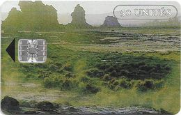 Djibouti - OPT - Countryside View - 50Units, SC7, 1991, Used - Djibouti