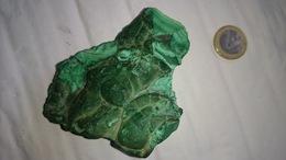 TRES BELLE MALACHITE PURE  300 GRAMMES (zaire) - Minéraux