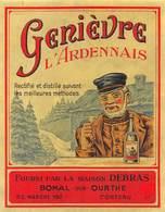 """0271 """"GENIEVRE L'ARDENNAIS"""" ETICHETTA ORIG. - Autres"""