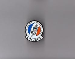Pin's Police / Formation Motocyclistes De Limoges - Hauteur: 2,3 Cm - Police
