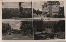 Neuhaus Am Rennweg - U.a. Marktplatz - 1953 - Neuhaus