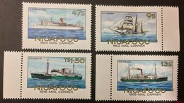 Tonga 1985** Mi.57A-60A (Ships ) [21;130] - Schiffe