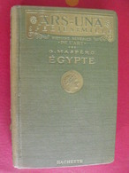 Ars=una. Histoire Générale De L'art : égypte. G. Maspéro. Hachette 1928 - 1901-1940
