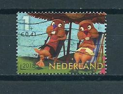 2018 Netherlands Child Welfare,kinderzegel,De Fabeltjeskrant,comics Used/gebruikt/oblitere - Periode 2013-... (Willem-Alexander)
